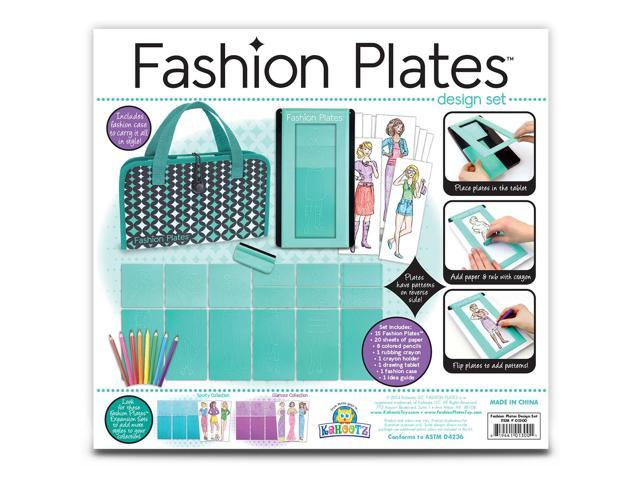 Fashion Plates Deluxe Kit-