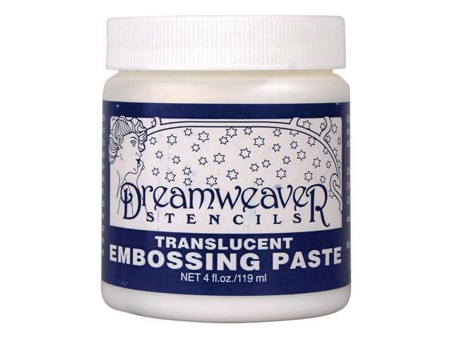 Dreamweaver Embossing Paste 4Oz-Transluscent