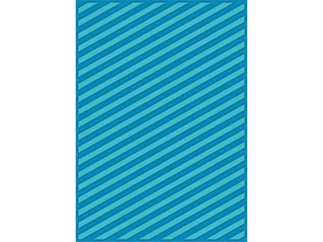 Ebosser Embossing Folders Letter Size By Teresa Collins-Modern Stripe