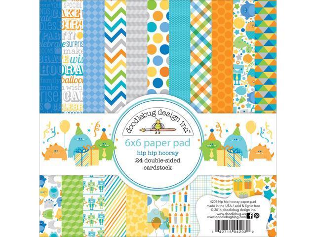 Hip Hip Hooray Paper Pad 6