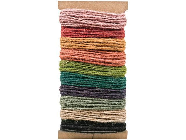 Idea-Ology Jute String-10 Colors/3 Yards Each