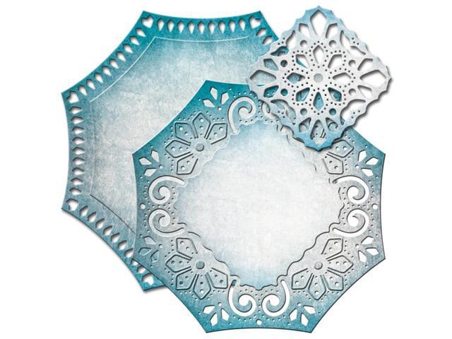 Spellbinders Nestabilities Decorative Elements Dies-Labels 46