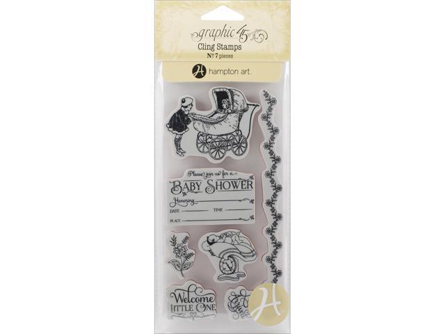 Graphic 45 Precious Memories Cling Stamps-Precious Memories 2