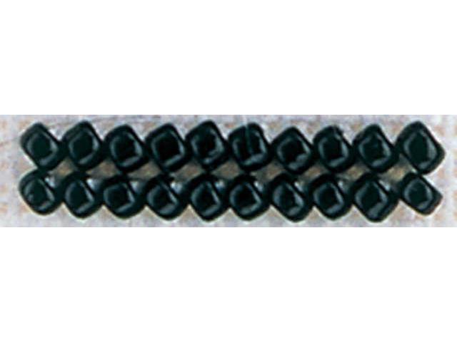 Mill Hill Glass Seed Beads Economy Pack 9.08 Grams/Pkg-Black