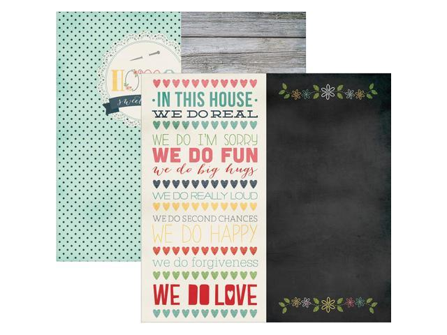 Homespun Double-Sided Elements Cardstock 12