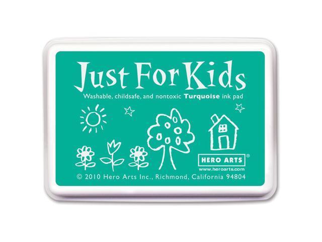 Hero Arts Just For Kids Inkpad-Turquoise