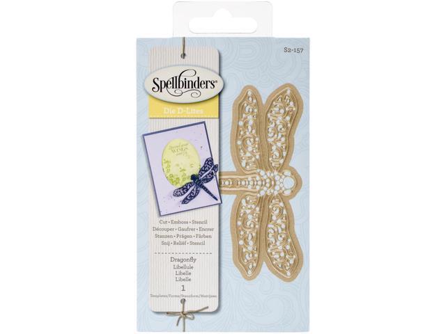 Spellbinders Shapeabilities Die D-Lites-Dragonfly