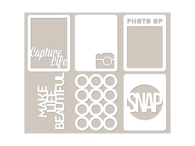 Mini Placemats Die-Cut Cardstock Cards 3