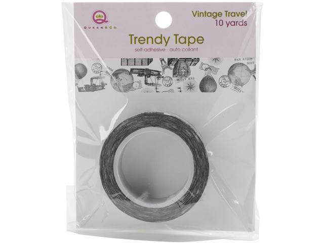 Queen & Co. Trendy Tape-Vintage Travel