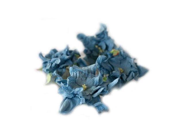 Vintage Gardenia 4/Pkg-Blue