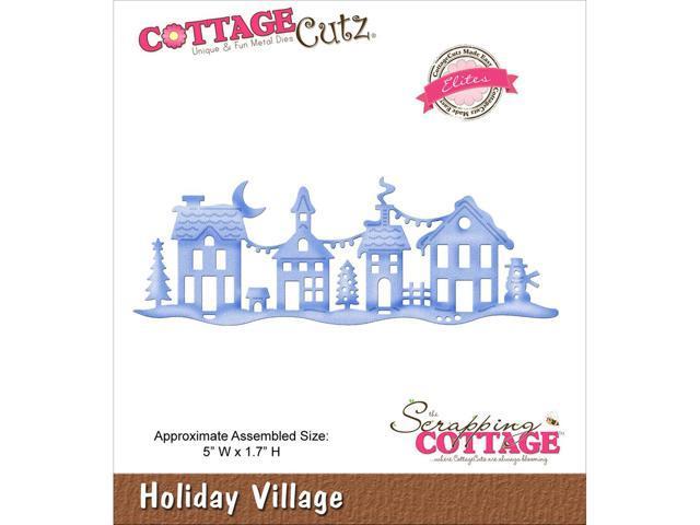 Cottagecutz Elites Die -Holiday Village