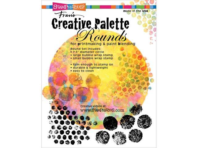 Stampendous Creative Palette Rounds Designs-(1) 7.5