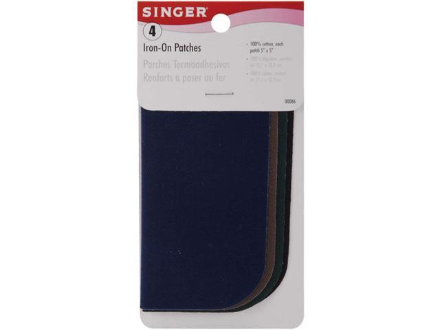 Singer Patch Dark 4Ct 5X5 2901-1020