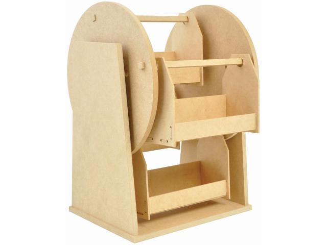 Beyond The Page Mdf Rotating Storage Wheel-11
