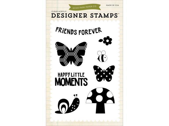 Echo Park Stamps-Happy Little Moments