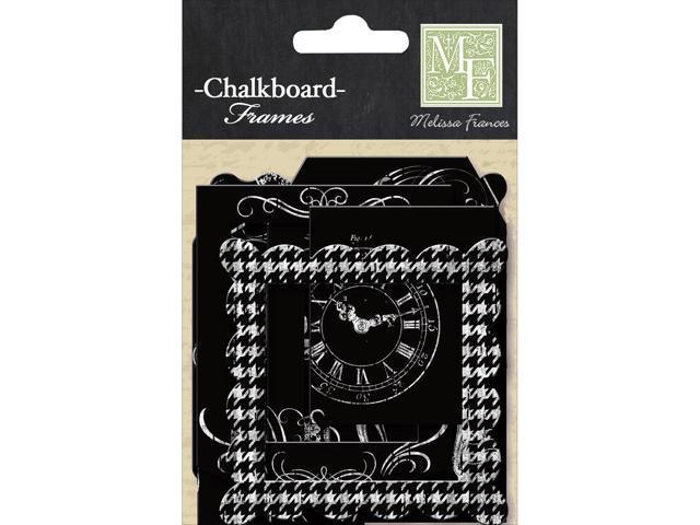 Chalk Talk Paper Frames 12/Pkg-Chalkboard