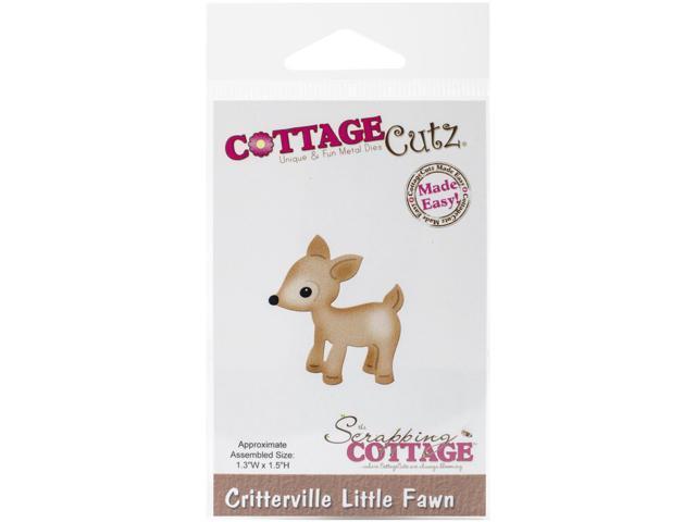 Cottagecutz Die-Critterville Little Fawn 1.3