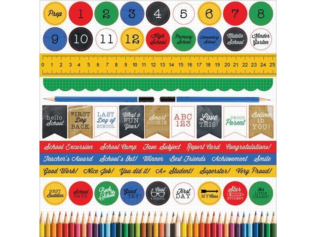 2 Cool 4 School Cardstock Stickers 12