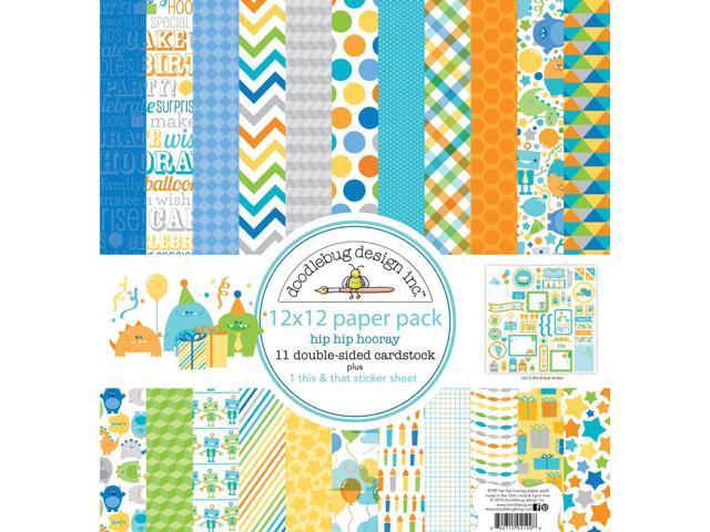 Hip Hip Hooray Paper Pack 12