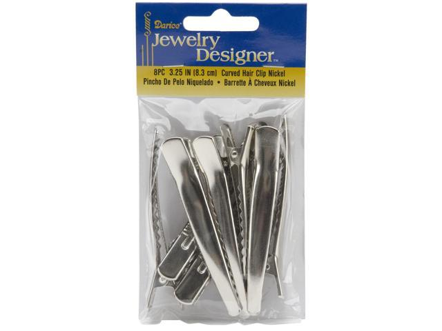 Curved Hair Clips 3.25