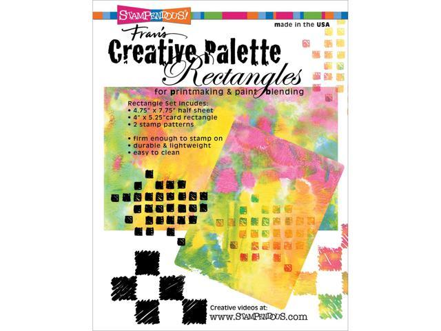 Stampendous Creative Palette Rectangles Designs-(1) 4.75