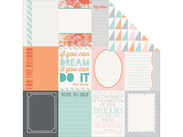 Dream Big Double-Sided Cardstock 12