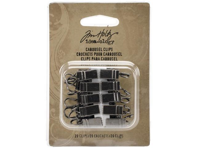 Idea-Ology Carousel Clips 20/Pkg-For Use With Th93214