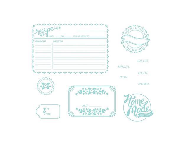 Lifestyle Letterpress Plates-Homemade