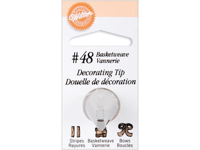 Decorating Tip-#48 Basketweave
