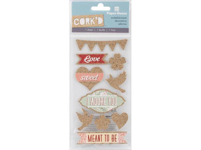 Cork'd Embellishments-Meant To Be