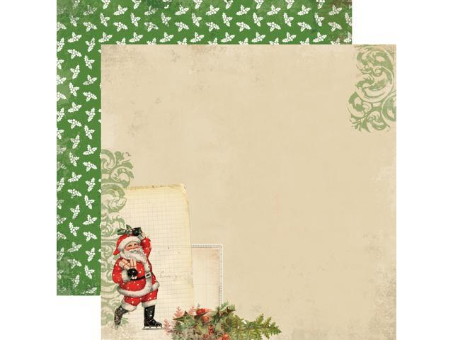 Christmas Time Double-Sided Cardstock 12