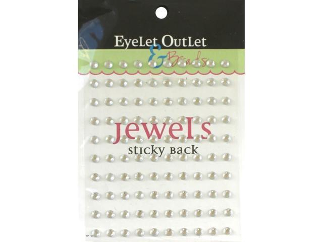 Bling Self-Adhesive Jewels 5Mm 100/Pkg-Clear