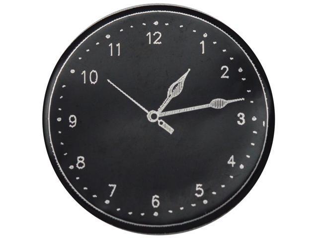 Metal Clock Face 50/Pkg-Large Black