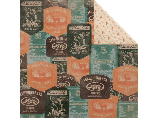 Outdoor Trail Double-Sided Cardstock 12