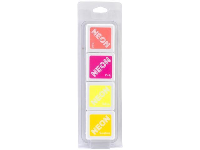 Hero Arts Dye Inks 4 Color Cubes-Neon 2