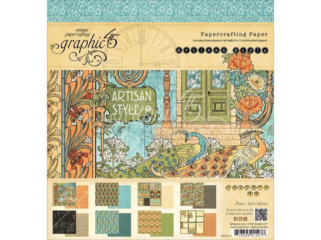 Graphic 45 Paper Pad 8