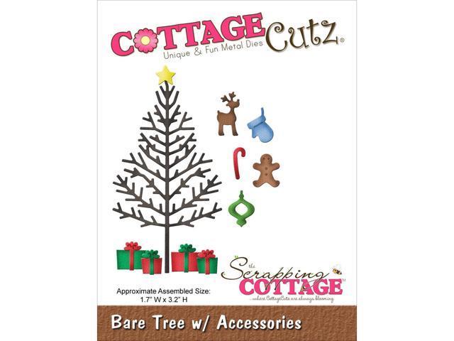 Cottagecutz Die-Bare Tree W/Accessories
