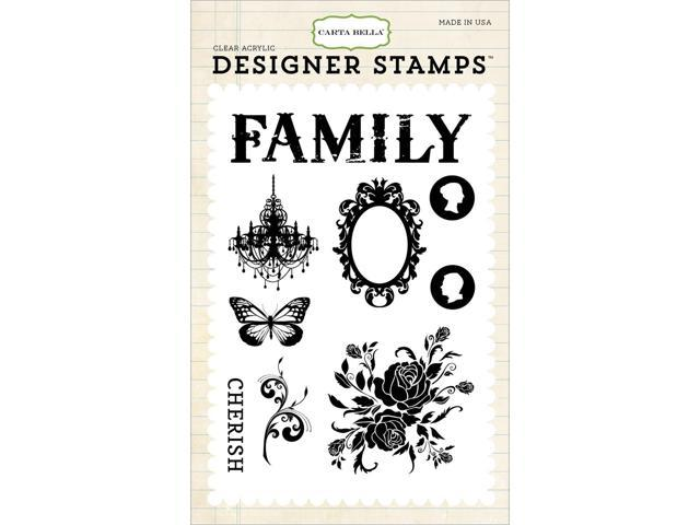 Carta Bella Stamps-Moments & Memories