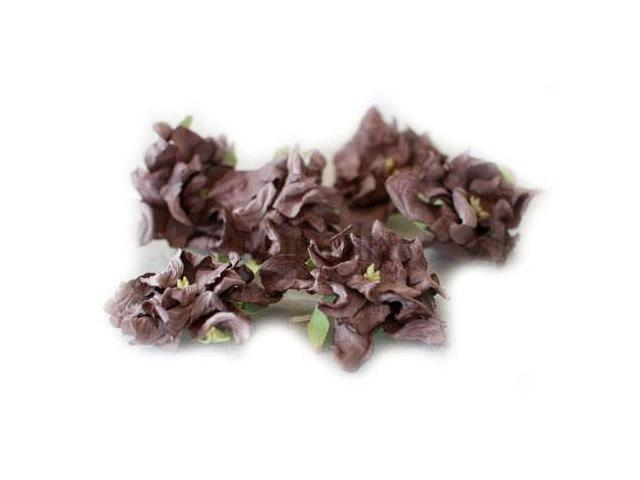 Vintage Gardenia 4/Pkg-Mahogany
