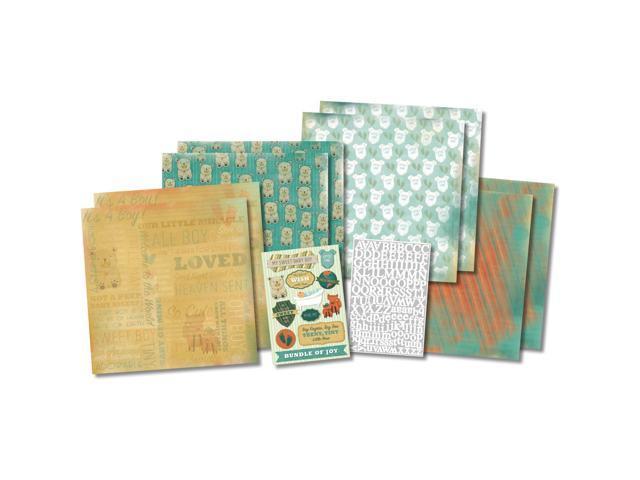 It's A Boy Scrapbook Page Kit 12