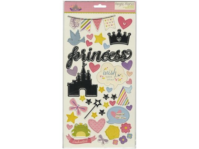 Enchanted Chipboard Stickers 6