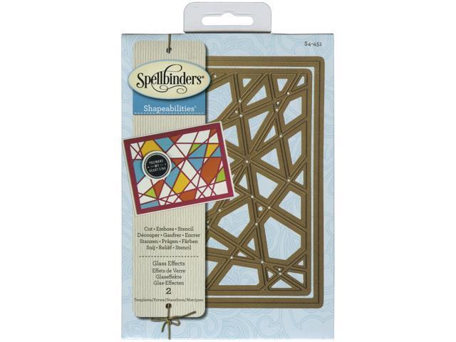 Spellbinders Shapeabilities Dies-Glass Effects