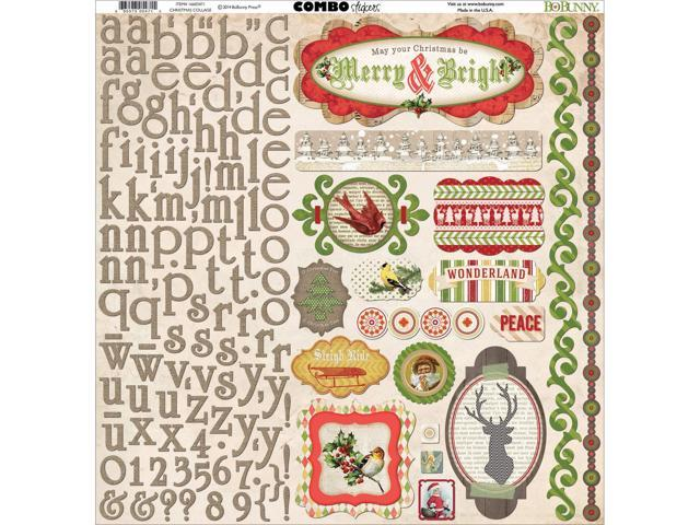 Christmas Collage Combo Stickers 12