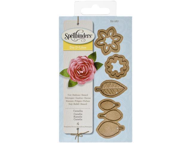 Spellbinders Shapeabilities Die D-Lites-Camellia