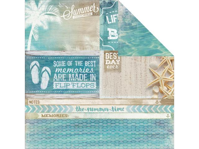 Sandy Toes Double-Sided Cardstock 12