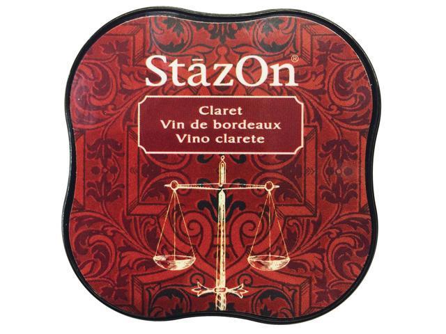 Stazon Midi Ink Pad-Claret