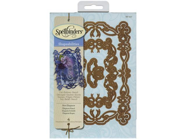 Spellbinders Shapeabilities Dies-Bow Elegance