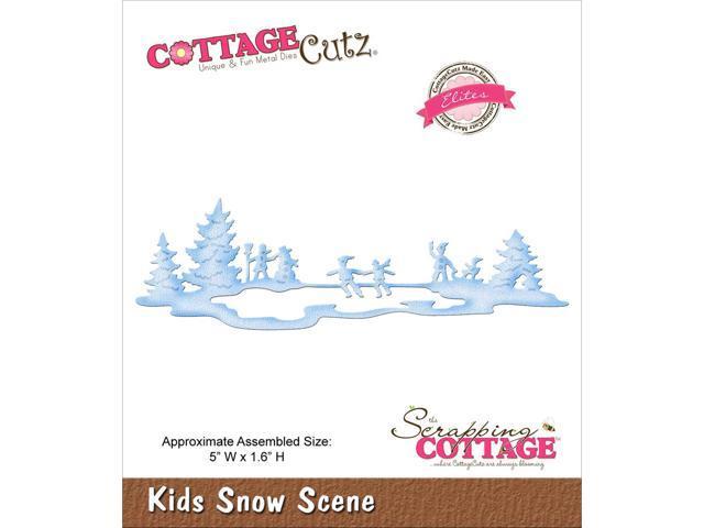 Cottagecutz Elites Die -Kids Snow Scene