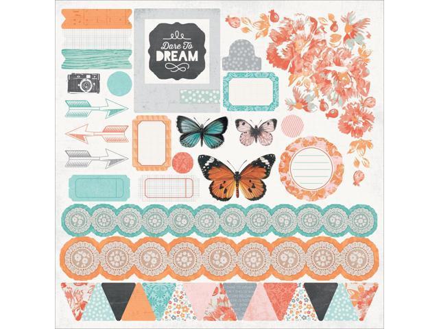 Dream Big Cardstock Stickers 12