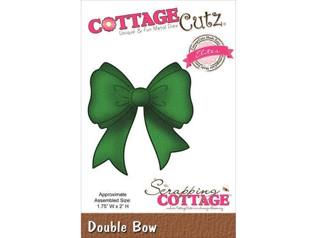 Cottagecutz Elites Die-Double Bow